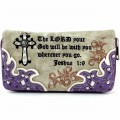 Wholesale Western Purple Wallet The LORD your God will be with you wherever you go