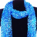 CS_001 Wholesale Blue Gradient Confetti Scarf