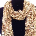 CS_001 Wholesale Brown Gradient Confetti Scarf