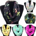 IS002 Wholesale Multicolor Assorted Size Colors Fleur De Dis Infinity Scarf All Colors Dozen