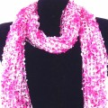 CS_001 Wholesale Pink Gradient Confetti Scarf